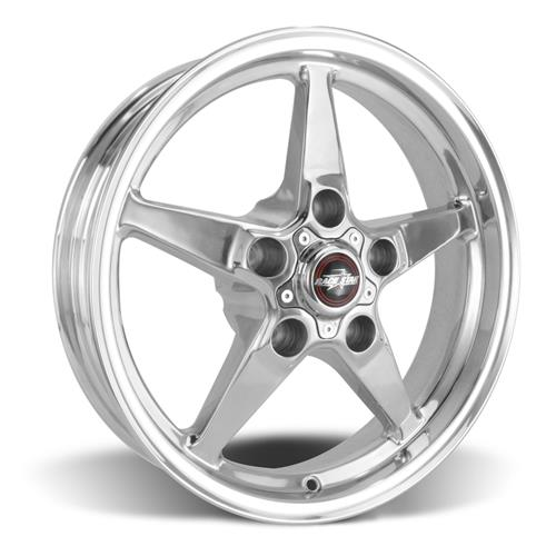 Race Star F-150 SVT Lightning Drag Star Wheel Kit - 17x4.5/10.5  - Polished - Direct Drill (00-04)
