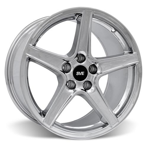Mustang Saleen Wheel Kit - 18x9/10 Chrome (94-04)