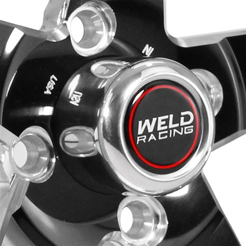 Weld Mustang RT-S S71 Wheel - 15x4  - Black (79-93) 71LB-504P25C