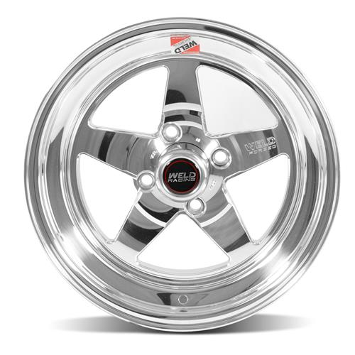 Weld Mustang RT-S Wheel 15x8 Polished (79-93) 71LP-508P55C