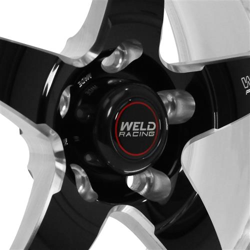 Weld Mustang RT-S S71 Drag Wheel - 17x10 Black w/ Polished Lip (94-04) 71MB7100A63A