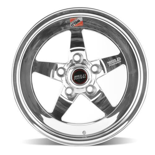Weld Mustang RT-S S71 Drag Wheel - 15x4 Polished Lip (94-04)