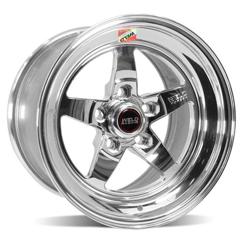 Weld Mustang RT-S S71 Drag Wheel - 15x10 Polished (94-04) 71MP-510A65A