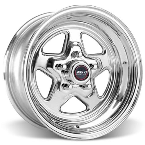 Weld Racing Mustang Pro-Star Wheel - 15x10 Polished (94-04) - Weld Racing Mustang Pro-Star Wheel - 15x10 Polished (94-04)