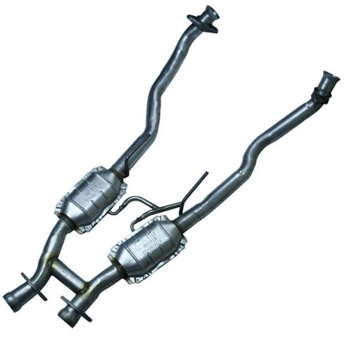 Picture of 1986-93 Mustang Direct Fit Catalitic H-Pipe with Air Tube, Walker Exhaust