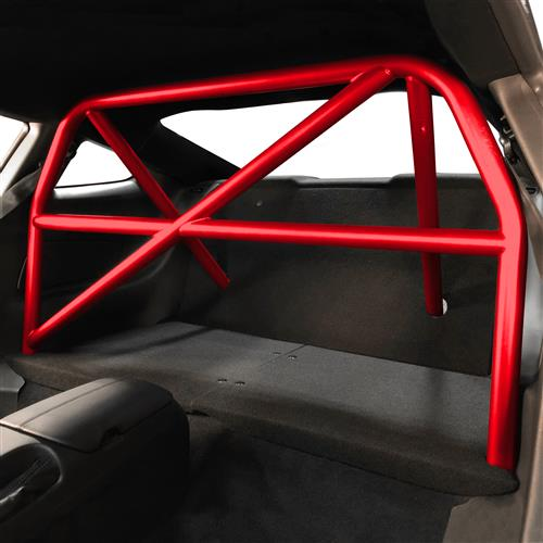 Watson Racing Mustang 4 Point Bolt-In Roll Cage  - Red (15-18) WR-15-BOLTINCAGE-RED