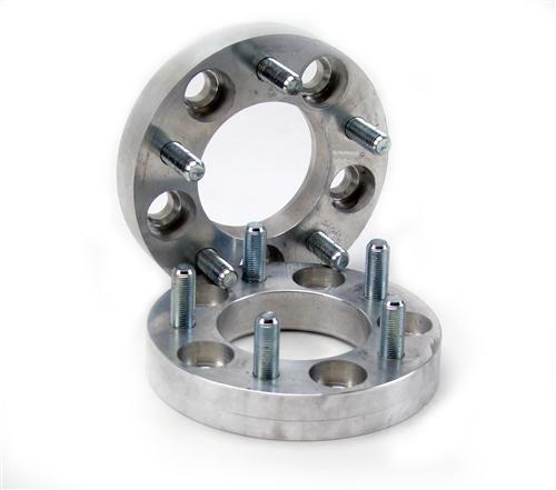 "WHEEL SPACER, 5-LUG, 1"" 1/2"" t"