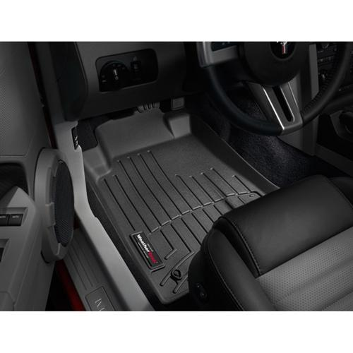 WeatherTech Mustang DigitalFit FloorLiner  - Black (2010)