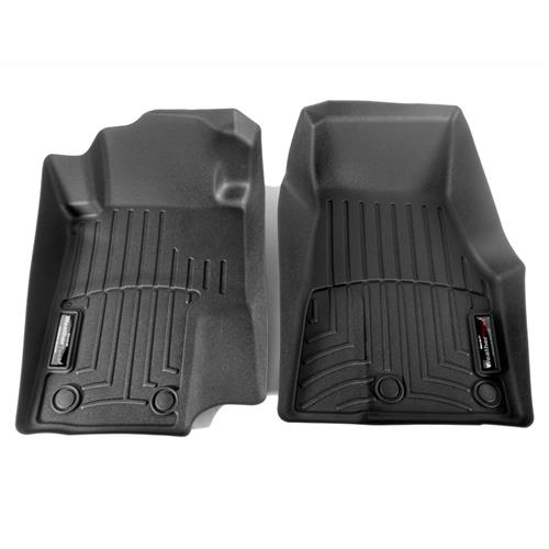 WeatherTech Mustang DigitalFit Floor Mats  - Black (13-14) 444681