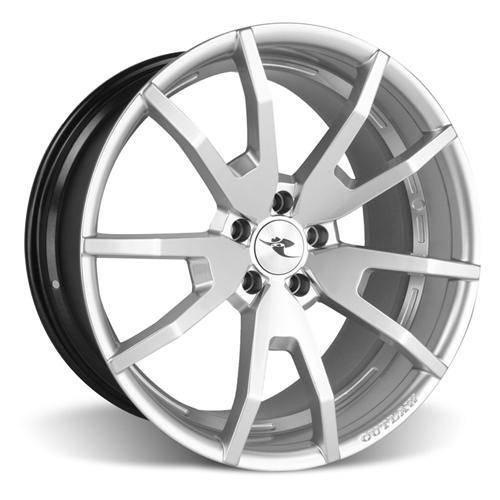 CDC Mustang Outlaw 20X9/10 Wheel & Nitto Nt05 Tire Kit  Silver (15-16)