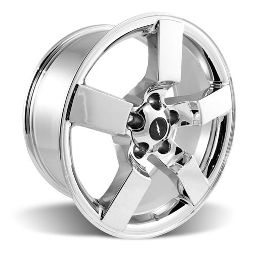 "F-150 SVT Lightning Wheel & Tire Kit - 18x9.5"" Chrome (99-04) Nitto NT555"
