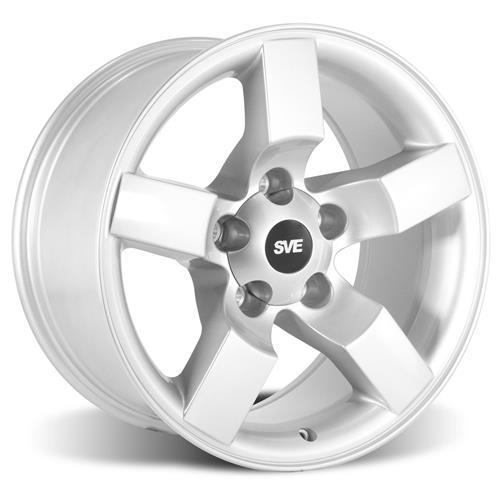 "F-150 SVT Lightning Wheel & Tire Kit - 18x9.5""  - Silver - NT555 G2 Tires (99-04)"