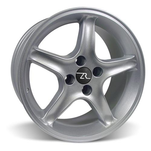 Mustang Cobra R Wheel & Tire Kit - 17x8 Silver (79-93) Sumitomo ZII
