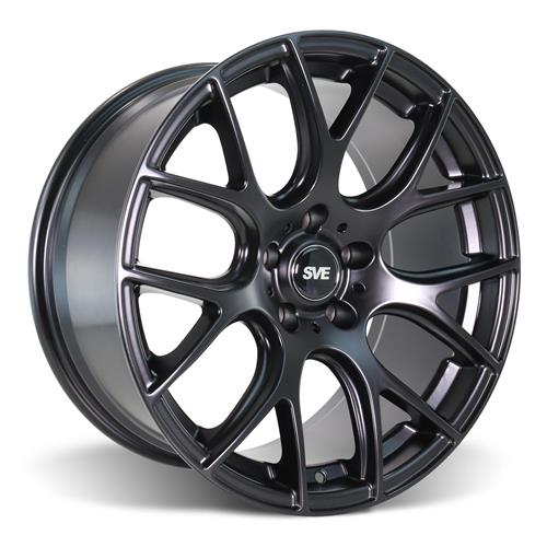SVE  Mustang Drift Wheel & Tire Kit - 18X9 Flat Black (94-04) Sumitomo ZII