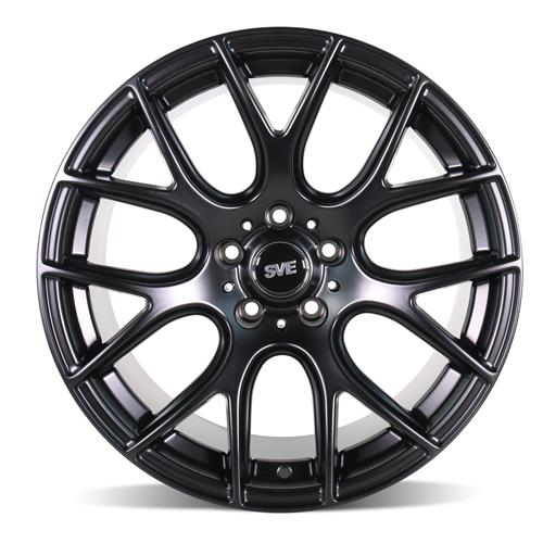 SVE Mustang Drift Wheel & Tire Kit 19x9.5 - Flat Black  - ATR Sport 2 (15-17)