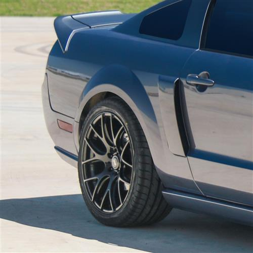 SVE Mustang Drift Wheel & Tire Kit - 19x9.5  - Gloss Black - NT555 (05-14)