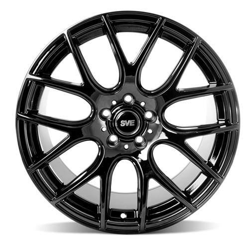 SVE Mustang Drift Wheel & Tire Kit - 19x9.5  - Gloss Black - NT555 Tires (15-16)