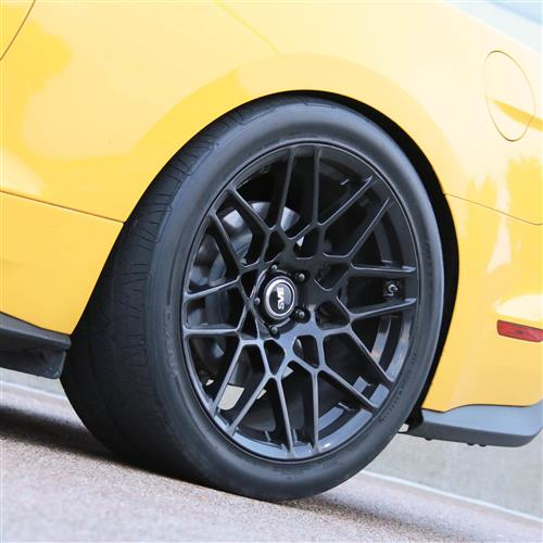 SVE Mustang S500 Wheel & Tire Kit - 20x8.5/10  - Gloss Black - NT555 G2 Tires (15-17)