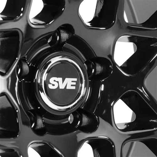 SVE Mustang 2013 GT500 Style Wheel & Tire Kit - 20x8.5/10  - Gloss Black - Ohtsu Tires (05-14)