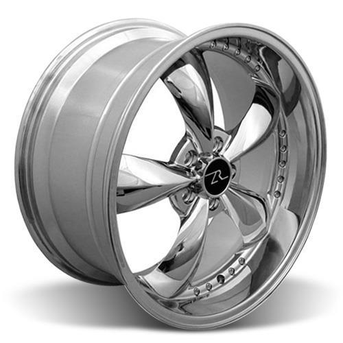 Mustang Bullitt Wheel & Tire Kit 20X8.5/10 Chrome (05-14) Ohtsu