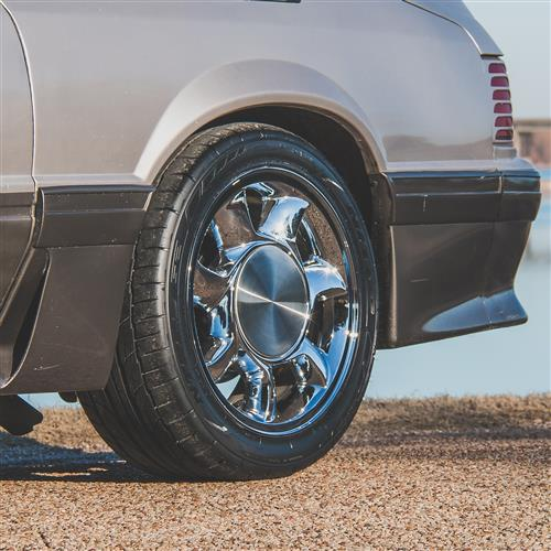 Mustang 93 Cobra Wheel & Tire Kit - 17x8.5  - Chrome - NT555 G2 Tires (79-93)