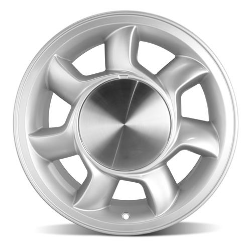 Mustang 93 Cobra Wheel & Tire Kit 17x8.5  - Silver - NT555 G2 Tires (79-93)