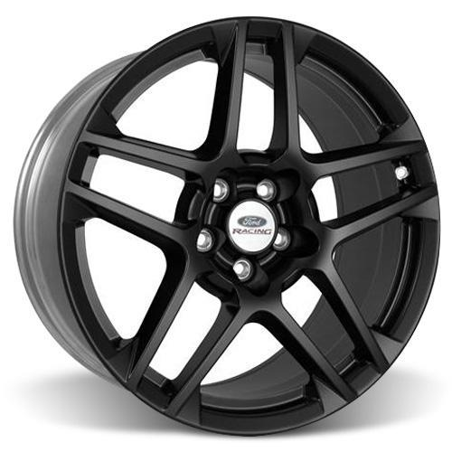 "Ford Racing Mustang SVT 5 Spoke Wheel & Tire Kit - 19x9.5"" Satin Black (05-14) Nitto NT555"