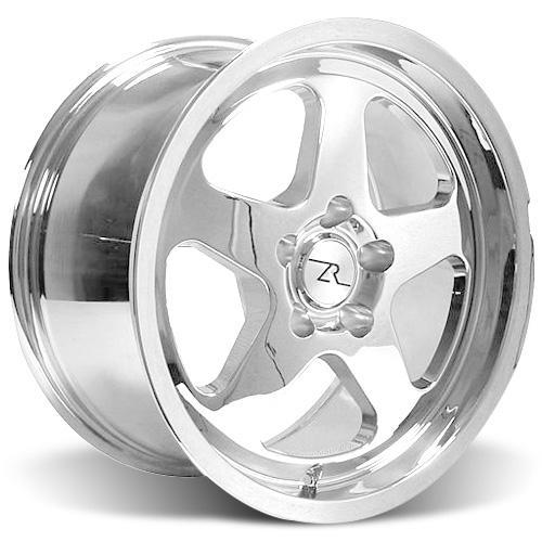 Mustang SC Wheel & Tire Kit - 17x9 Chrome (94-04) Nitto NT555