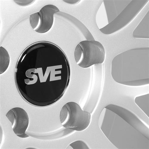 SVE Mustang Series 1 Wheel & Tire Kit - 18x9/10  - Gloss Silver - NT05 Tires (94-04)