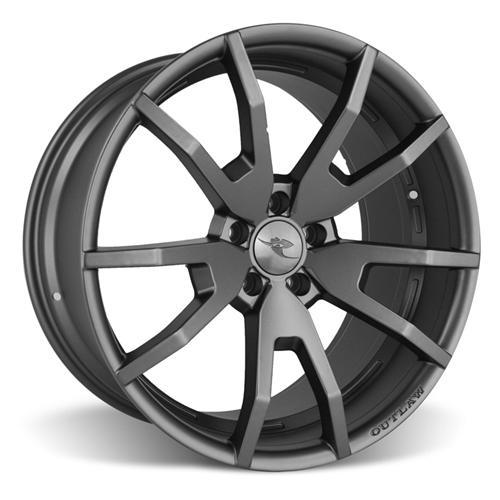 CDC Mustang Outlaw 20X9/10 Wheel & NT555 G2 Tire Kit  Satin (15-16)