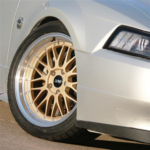 SVE Mustang Series 1 Wheel & Tire Kit - 18x9/10  - Liquid Gold - NT05 Tires (94-04)