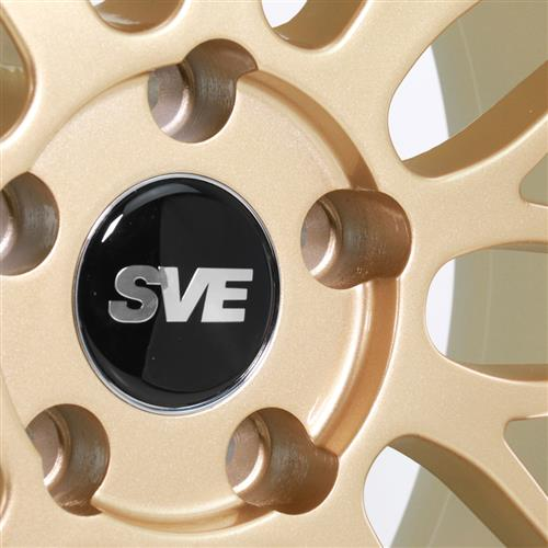 SVE Mustang Series 1 Wheel & Tire Kit - 18x9/10  - Liquid Gold - Z II Tires (94-04)