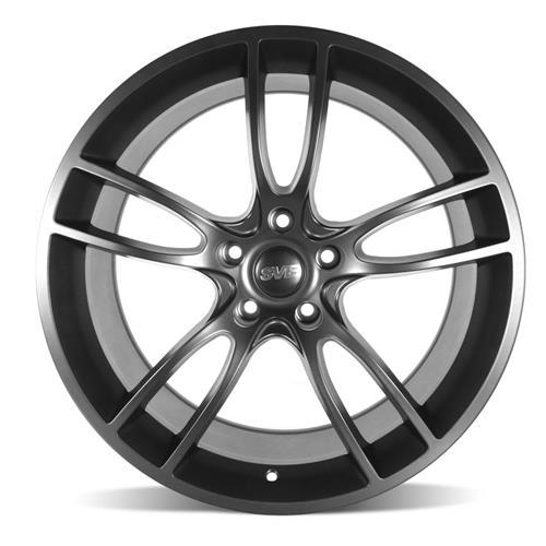 SVE Mustang GT7 Wheel & Tire Kit - 20x10  - Satin Black - Ohtsu Tires (05-14)