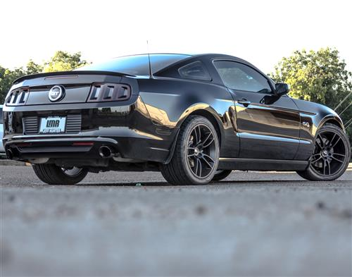SVE Mustang GT7 Wheel & Tire Kit - 20x10/11  - Satin Black - NT555 G2 Tires (05-14)