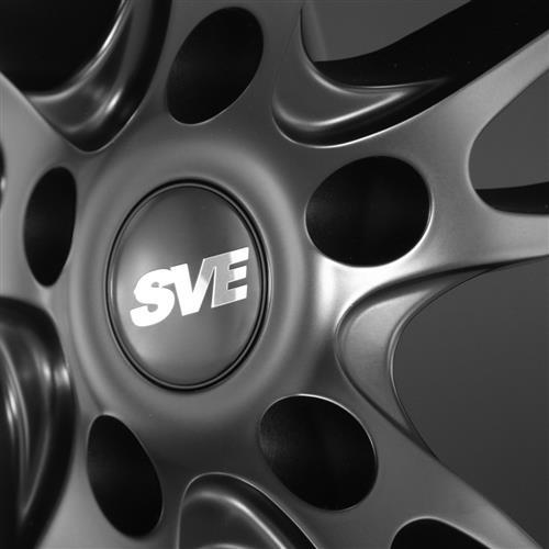 SVE Mustang GT7 Wheel & Tire Kit - 20x10/11  - Satin Black - M/T Street Comp Tires (15-17)