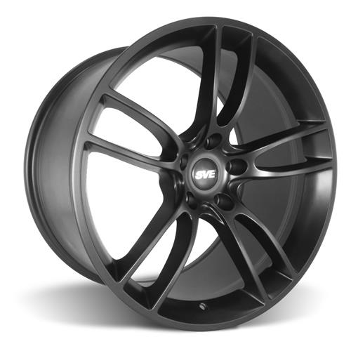 SVE Mustang GT350 GT7 Wheel & Tire Kit - 19x11/11.5  - Satin Black - NT05 Tires (16-17)