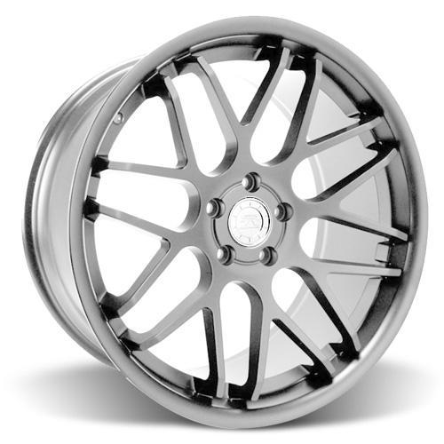 Mustang Downforce Wheel & Tire Kit - 20x8.5/10  Platinum (15-16) Ohtsu