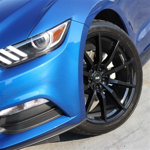 Great 20 2019 Trd Style Satin Black Wheels Fits Toyota: SVE Mustang S350 Wheel & Tire Kit