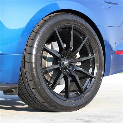SVE Mustang S350 Wheel & Tire Kit - 20x10  - Gloss Black - Staggered NT555 G2 Tires (15-17)