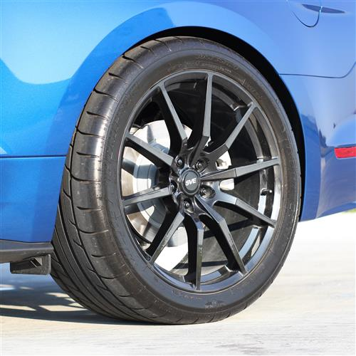 SVE Mustang S350 Wheel & Tire Kit - 20x10  - Gloss Graphite - NT05 Tires (15-17)