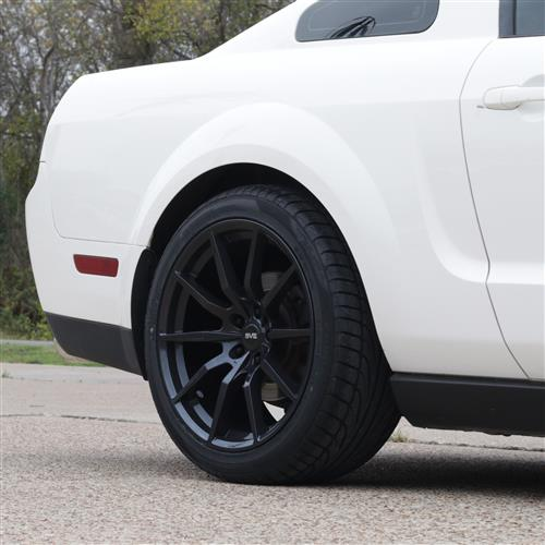 SVE Mustang S350 Wheel & Tire Kit - 19x10  - Gloss Black - NT555 G2 Tires (05-14)
