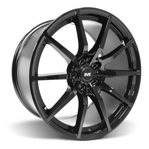 SVE Mustang GT350 Style Wheel & Tire Kit - 19x10  - Gloss Black - NT555 G2 Tires (05-14)