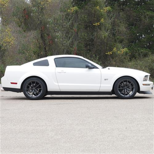 SVE Mustang S350 Wheel Kit - 19x10  - Gloss Graphite - NT555 G2 Tires (05-14)