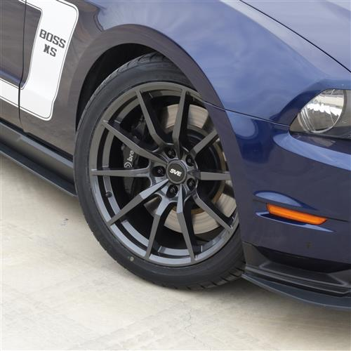 SVE Mustang S350 Wheel & Tire Kit - 19x10/11  - Gloss Graphite - NT05 Tires (05-14)