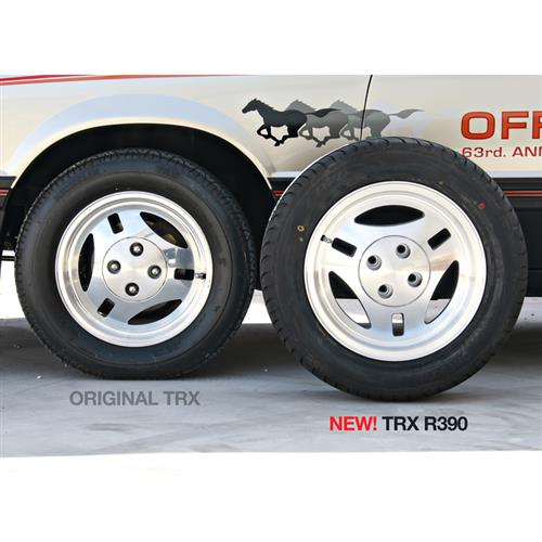 Mustang TRX R390 Style Wheel & Tire Kit- 16x7 (79-93) Ohtsu FP7000
