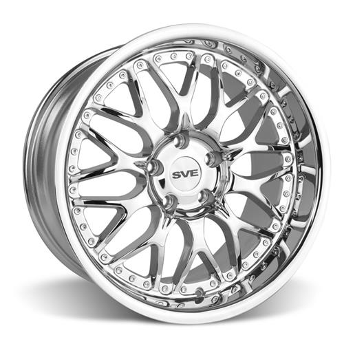 SVE Mustang Series 3 Wheel & Tire Kit - 19x9/10 Chrome (05-14) Hankook Ventus