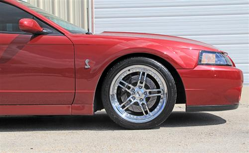 "SVE Mustang Series 2 Wheel & Tire Kit - 18x9/10"" Chrome (94-04)"