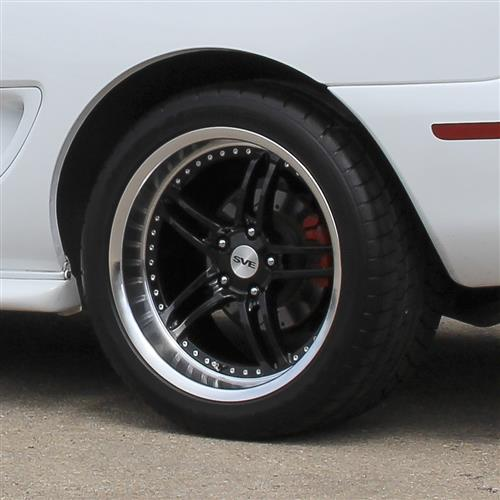 SVE Mustang Series 2 Wheel & Tire Kit - 18x9/10  - Gloss Black - NT555 G2 Tires (94-04)