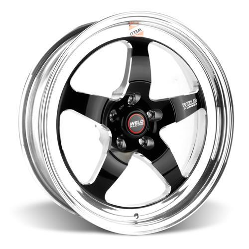 Weld Mustang RT-S Wheel & Tire Kit - 18x5/17x10 (15-16)