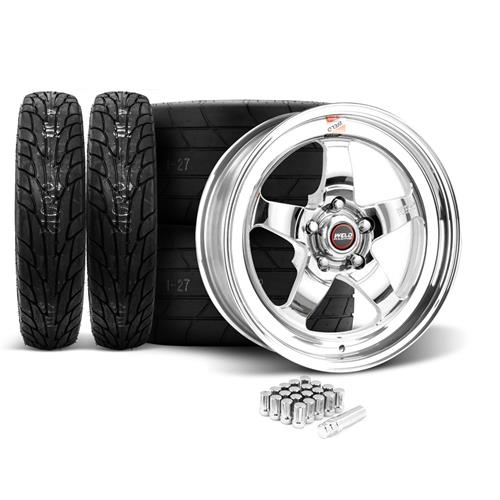 Weld Mustang RT-S Wheel & Tire Kit - 18x5/17x10 (05-17)